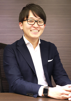 佃 雄太郎氏