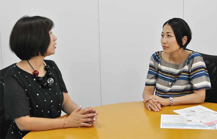 有限会社モーハウス代表取締役 光畑由佳さんと株式会社natural rights代表取締役 小酒部さやかさん
