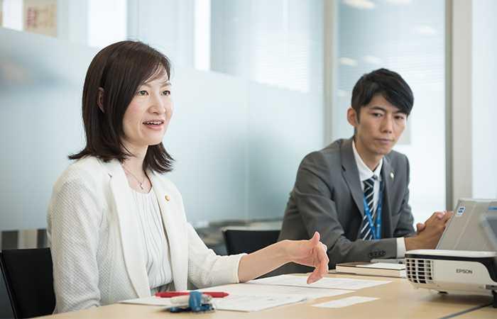 プルデンシャル生命保険株式会社 玉井史隆さんと、出水直子さん