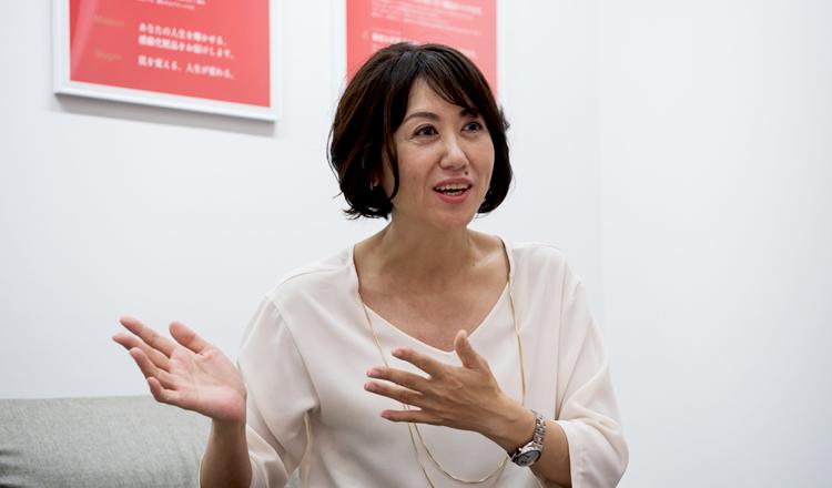株式会社ランクアップ代表取締役社長 岩崎裕美子さん Photo