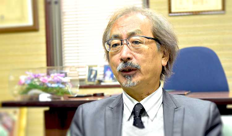 株式会社協和専務取締役 若松秀夫さん Photo