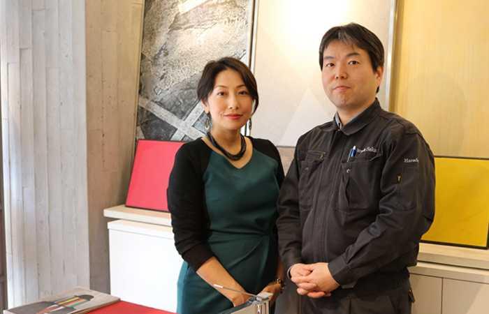 有限会社原田左官工業所 代表取締役社長 原田宗亮さん photo