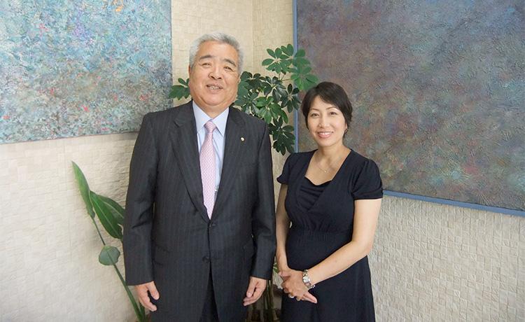 株式会社さくら住宅 代表取締役 二宮生憲さん、株式会社natural rights代表取締役 小酒部さやかさん