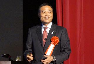 株式会社ローソン 代表取締役CEO 新浪剛史氏 photo