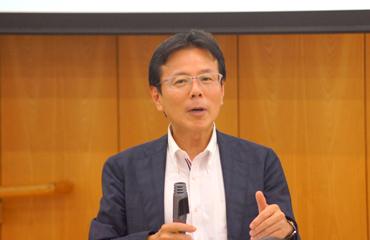 金井壽宏教授 photo