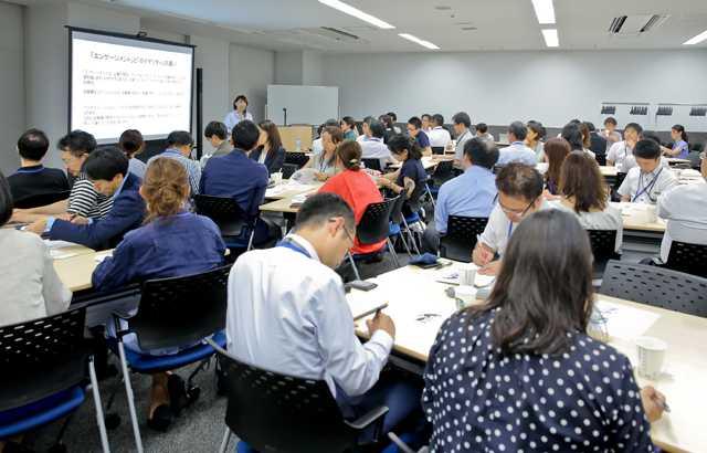 日本の人事部 HRアカデミー2018 夏期講座の様子