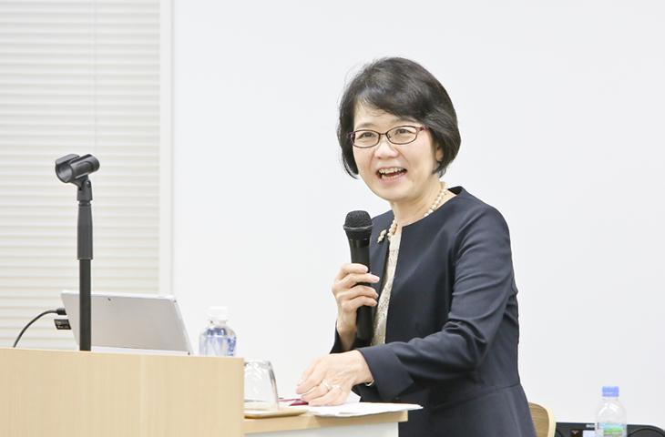 味の素株式会社 理事 グローバル人事部長 髙倉 千春氏