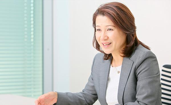 河辺恵理さん(SCSK株式会社)photo