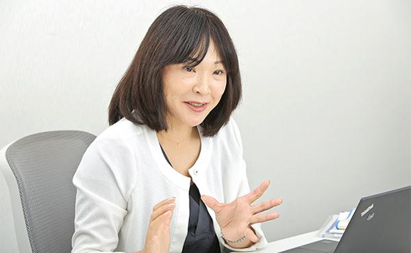 山口恭子さん(株式会社ローソン)photo