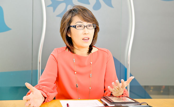 島田由香さん(ユニリーバ・ジャパン・ホールディングス株式会社)Photo