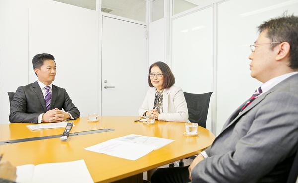 秋山進さん・小川達也さん・中原孝子さん photo