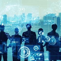 HRテクノロジー導入が進んでいるのは労務管理。業務によっては5%未満