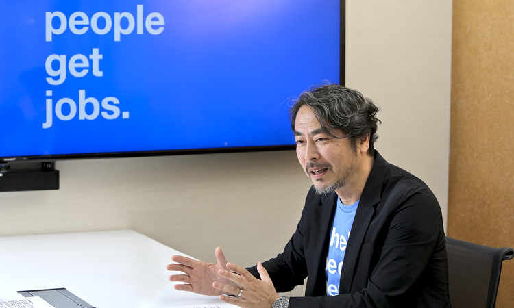 Indeed Japan株式会社 代表取締役/ゼネラルマネジャー 高橋信太郎さん