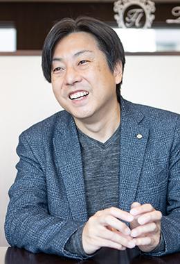 安東由歩さん(株式会社アローリンク 代表取締役副社長)