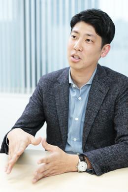 ピーシーフェーズ株式会社 shouin事業本部 マーケティング&セールス部 部長 中村昌広さんphoto