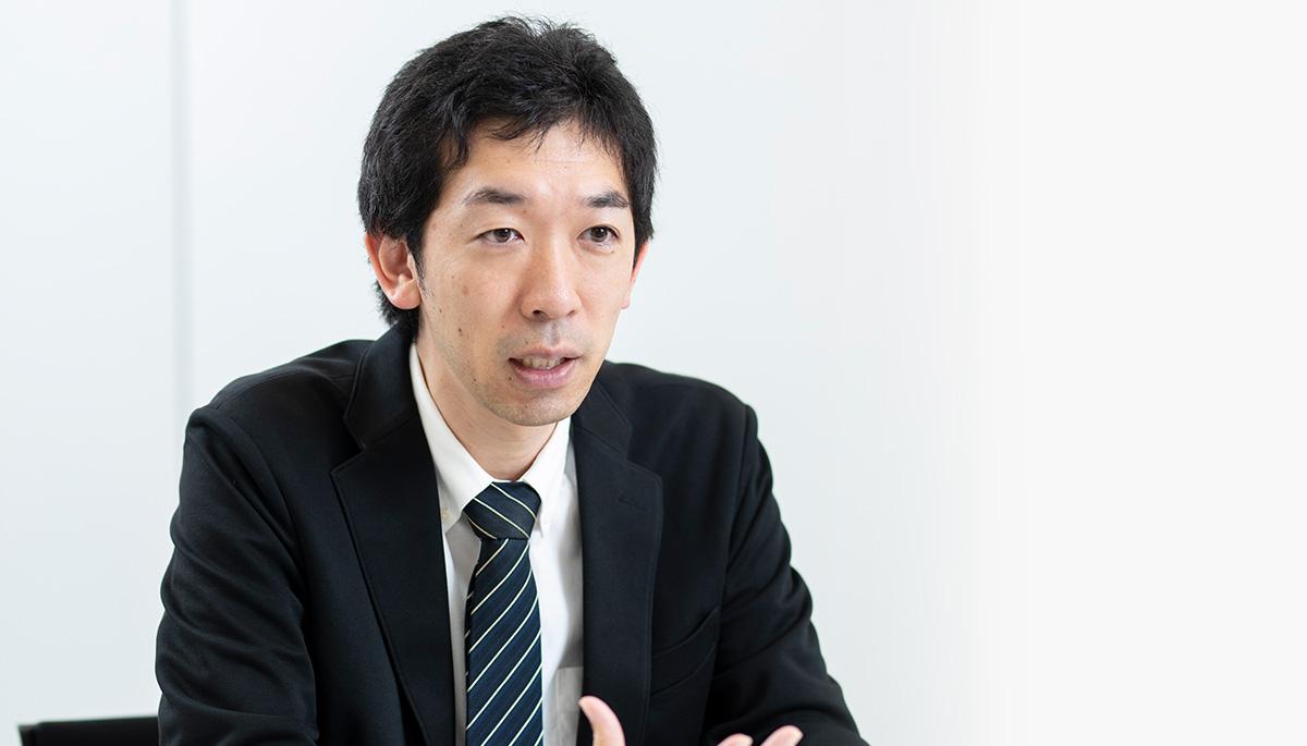 出井 丈也さん(帝人株式会社 デジタルヘルス事業推進部  B2B推進グループ リーダー)