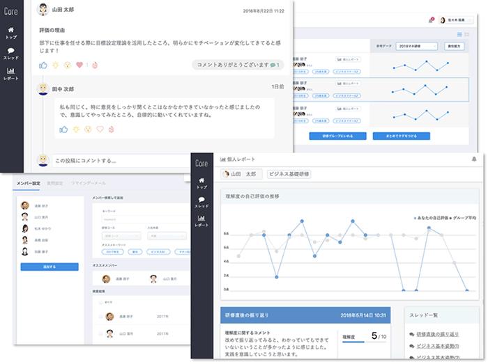 「Core」の画面イメージ