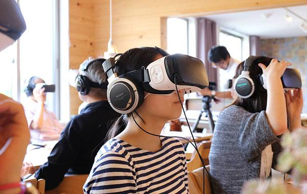 VR研修のイメージ