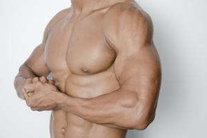 美しい筋肉のイメージ画像