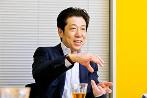 株式会社リンクアンドモチベーション代表取締役会長 小笹芳央さん Photo