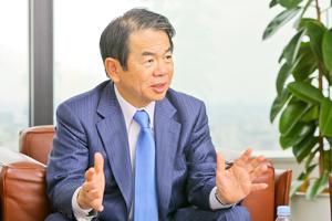 株式会社オービックビジネスコンサルタント代表取締役社長 和田 成史さん インタビュー photo