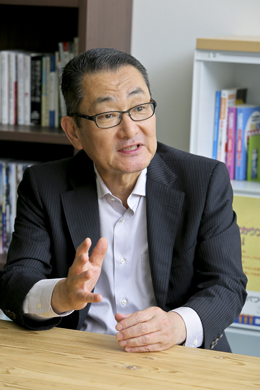 加藤智明さん インタビュー photo