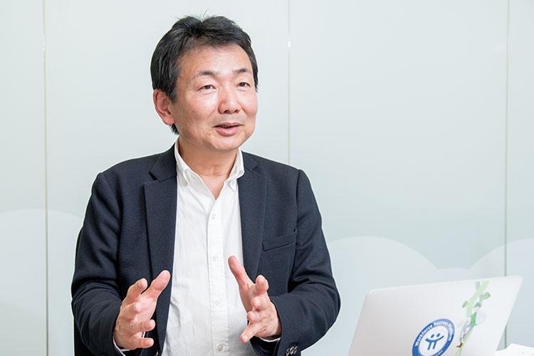 株式会社チームスピリット 代表取締役社長 荻島 浩司さん