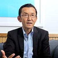 飯島 淳一さん(コーナーストーンオンデマンドジャパン株式会社 代表取締役):<br /> 「ラーニングをベースとするタレントマネジメント」を企業に提案<br /> 時代の変化に対応し、顧客をナビゲートする