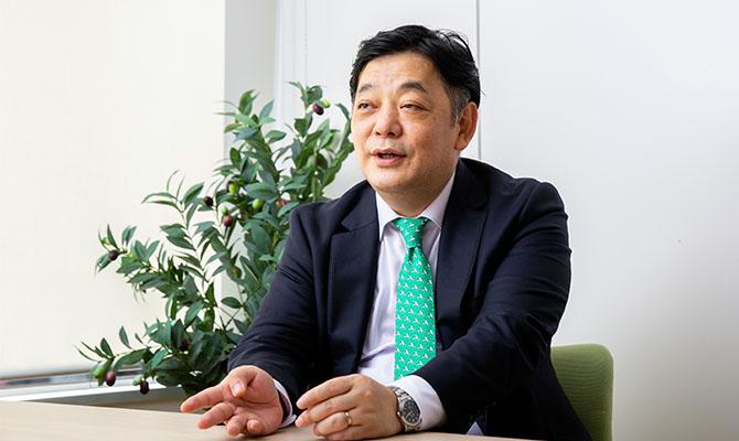 筒井智之さん(株式会社ダイヤモンド・ヒューマンリソース 代表取締役社長)