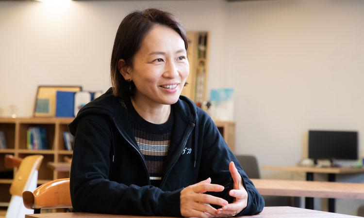端羽英子さん(株式会社ビザスク 代表取締役CEO)