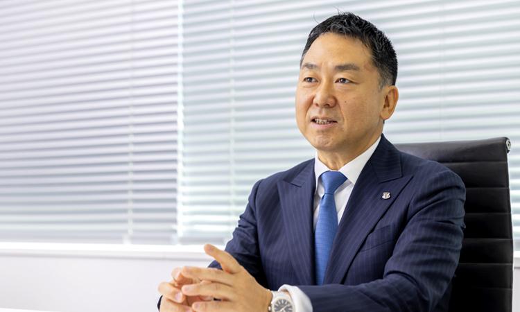 米田光宏さん(株式会社ツナググループ・ホールディングス 代表取締役社長)
