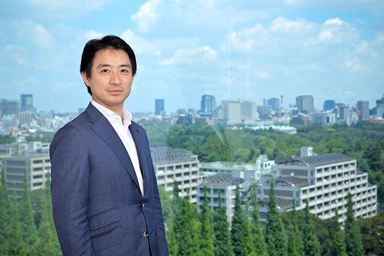 取材は2018年7月31日、東京都・港区の伊藤忠商事本社ビルにて