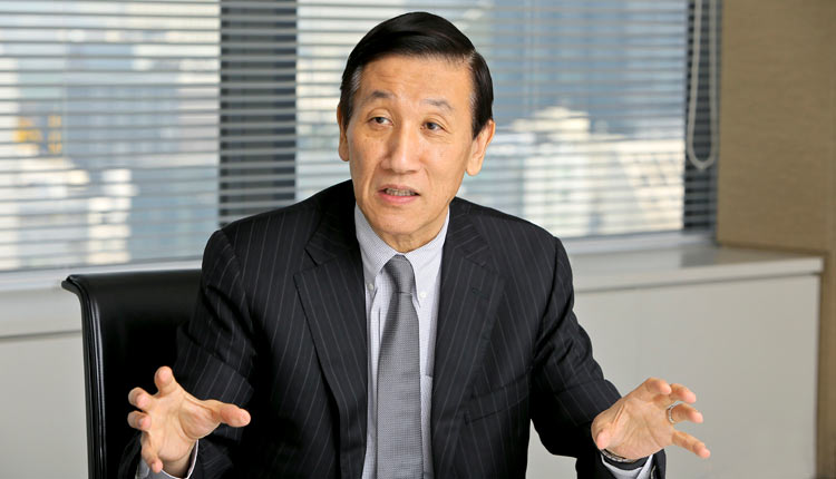 安渕聖司さん 日本GE株式会社代表取締役 GEキャピタル社長兼CEO Photo