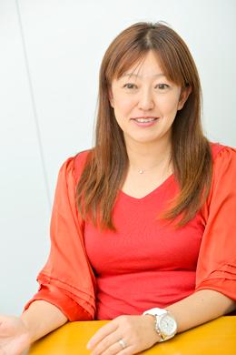 井原慶子さん Photo