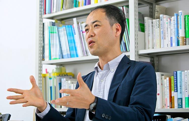石山 恒貴さん 法政大学大学院 政策創造研究科 教授