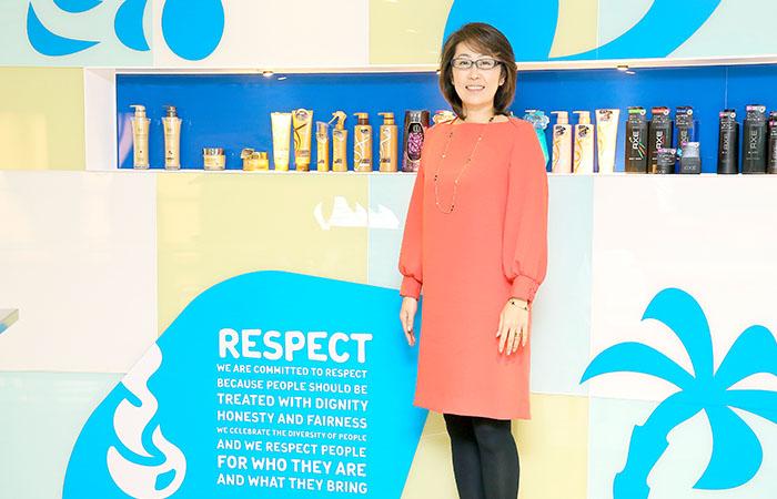 島田由香さん ユニリーバ・ジャパン・ホールディングス株式会社 取締役 人事総務本部長
