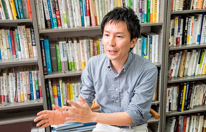 森永雄太さん 武蔵大学 経済学部経営学科