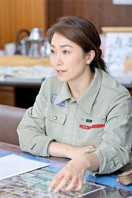 石坂産業株式会社 代表取締役 石坂典子さん