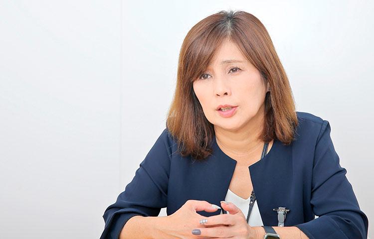 川島 薫さん(楽天ソシオビジネス株式会社 代表取締役社長)