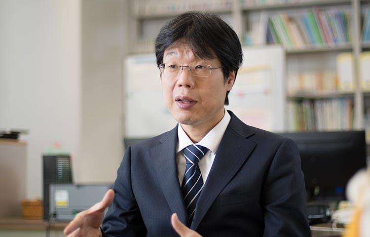 石黒圭さん(国立国語研究所 日本語教育研究領域 代表・教授 研究情報発信センター長)