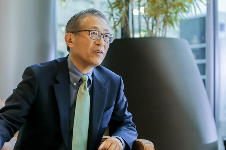 有賀誠さん(株式会社日本M&Aセンター 常務執行役員 人材ファースト統括)インタビュー風景