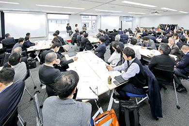 参加者の様子:HRコンソーシアム人事新年会 レポート 「人生100年時代のキャリアと学びを考える」