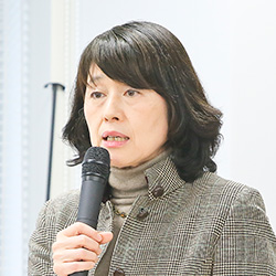 武石 恵美子氏(たけいし えみこ)