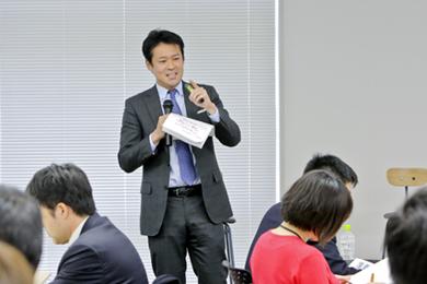 田中研之輔氏 photo