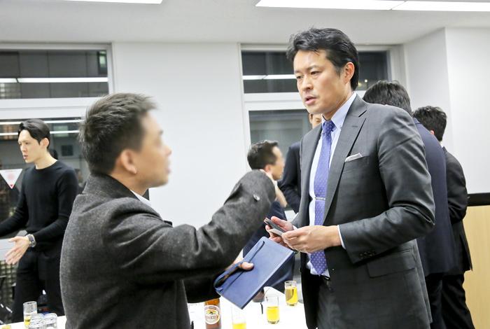 HRコンソーシアム 新年懇親会の様子 photo