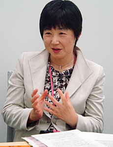 日産自動車株式会社 ダイバーシティディベロップメント オフィス室長 高橋 美由紀さん