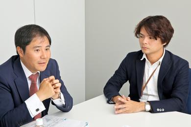 山田功生氏 影山博功氏 Photo