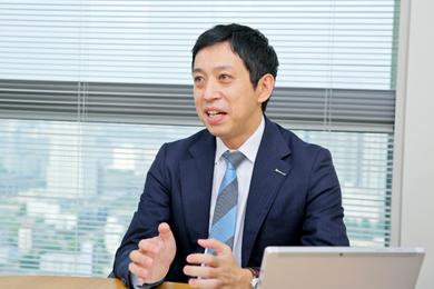 越川慎司氏 Photo