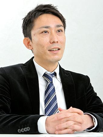 良村太生さん インタビューの様子