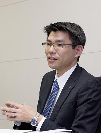 横田貴之さん インタビューの様子